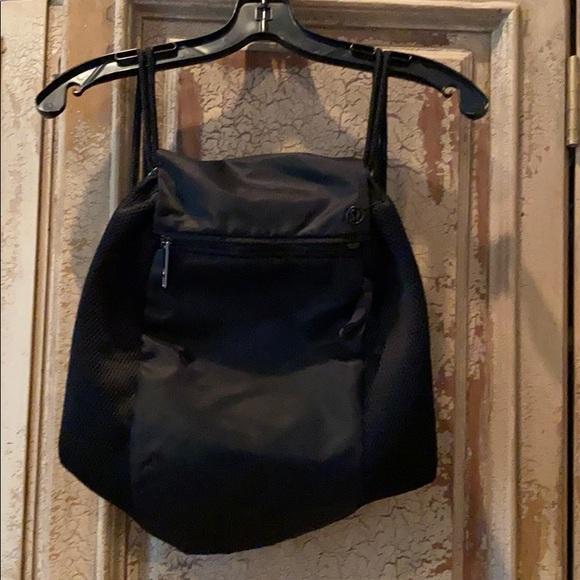 lululemon athletica Handbags - Lululemon Black Backpack Never Used